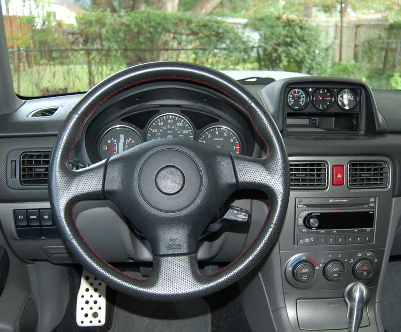 05 Sti Steering Wheel With Cruise Swap Into An 04 Xt Subaru